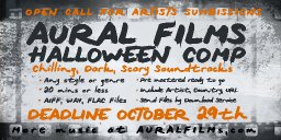 Aural Films is hosting a Halloween Compilation for 2020