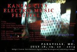 2014 Kansas City Electro Music Festival